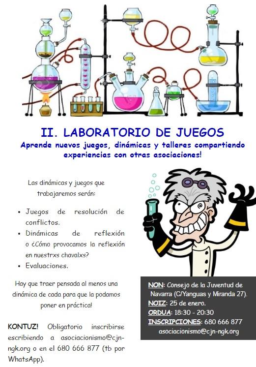 II. LABORATORIO DE JUEGOS